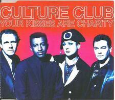 Boy George CULTURE CLUB Your Kisses are Charity 2MIXES & DUB CD single USA seler