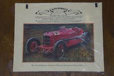 Alfa Romeo -- Mailand  -- 1924 -- Poster - Plakat - Farbe -- 33 x 41 cm