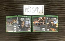 Call of Duty Finest Hour 2 Big Red One Cover Art Replacement Case Xbox Custom