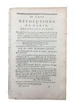 La Corse en 1789 Paoli Vernon Marie Antoinette Peine de mort Duplessis Farget
