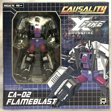 FansProject Causality Crossfire FLAMEBLAST CA-02 Transformers
