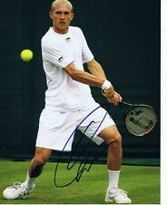 Nikolay Davydenko signed 8x10 photo Tennis Proof