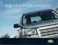 Land Rover Freelander 2 2006 UK Market Launch Brochure S GS XS SE HSE