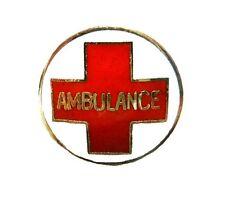 Ambulance Red Cross Lapel Pin Uniform Emblem Insignia Pins Recognition 929 New