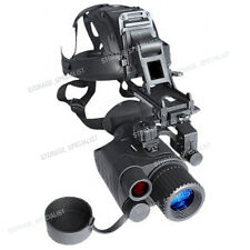 Master Night Vision Goggles Head Mount Kit Monocular Security IR Tracker Gen