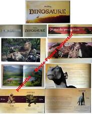 DINOSAUR - Disney - GREAT FRENCH PRESSBOOK