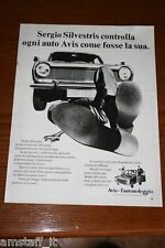 BF15=1972=AVIS AUTONOLEGGIO=PUBBLICITA'=ADVERTISING=WERBUNG=