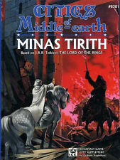 MINAS TIRITH w/MAP VF! MERP CITIES OF MIDDLE-EARTH 8301 Lord the Rings Tolkien