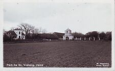 Denmark Vemb - Parti fra Norre Nørre Vosborg old real photo unused postcard