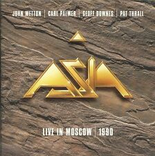 ASIA Live In Moscow 1990 CD Time Again Don't Cry Starless