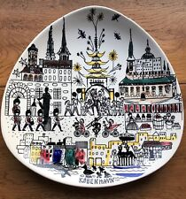 Vintage STAVANGERFLINT Inger Waage ART PLATE Kobenhavn  089 Y