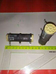 Résistance bobiné 20 ohm 100 W idéal charge amplificateur   Lot 2 pcs  DepF13h1