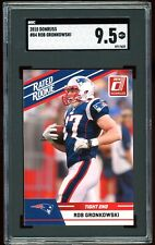 2010 Donruss Rated Rookie #84 Rob Gronkowski RC SGC Graded 9.5 = PSA 10? Bucs!
