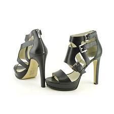 Zip Casual Block High (3 to 4 1/4) Heel Height Sandals for Women