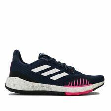 Женские Adidas pulseboost Hd зимние на шнуровке беговые кроссовки туфли в голубом