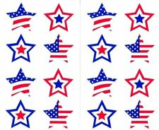 ~ Retired NLA American Stars USA United States Travel Mrs Grossman Stickers ~