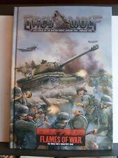 FLAMES OF WAR - GREY WOLF RULEBOOK (REVISED EDITION) - Hardback 2013 *NEW*