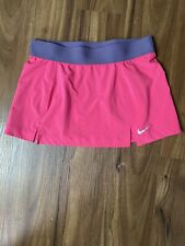 NIKE DRI-FIT Pink Women's Athletic Activewear Tennis Skirt Skort Shorts Sz M