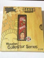 Tech Deck Wooden Collector Series Baker New
