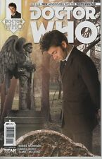 Doctor Who #7 New Adventures with 10th Doctor Weeping Angels photo cover comic