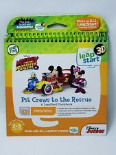LeapFrog LeapStart 3D Mickey and the Roadster Racers Book Brand New
