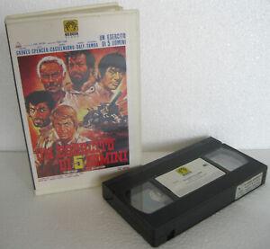 UN ESERCITO DI 5 UOMINI (1969) VHS ORIGINALE 1ª EDIZIONE MEDUSA VIDEO 📼