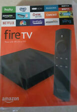 Brand New, Amazon Fire TV Box 4K Ultra HD (4 x Fast Than Stick) 2nd Generation