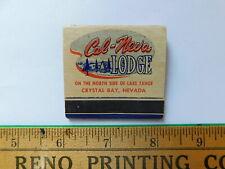 Old Cal-Neva Lodge Matchbook Missing One