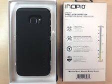 For Samsung Galaxy S7 Edge, Incipio DualPro Dual Layer Silicone Case Black