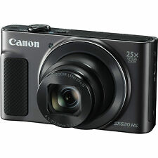 Canon PowerShot SX620 HS with 8gb Card & Case (Black)