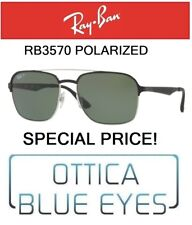 RAYBAN RB 3570 9004/9A Sunglasses Ray Ban Special Price Polarized Promozione New