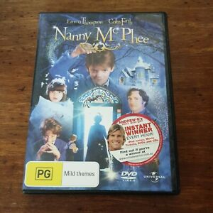 Nanny McPhee DVD R4 Like New! FREE POST