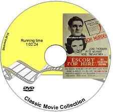 Escort for Hire - June Thorburn, Pete Murray  Film 1960 Drama DVD