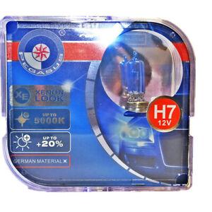 2x H7 12V 100W 5000K Xenon Super White Car Head Light Bulbs Auto Fog lights Bulb