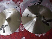 """Zildjian  K  HI HAT 14""""  Pair  Cymbal K0824"""