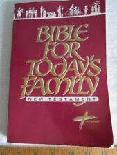 Bible For Today's Family New Testment Contemporary English Version Paperback