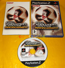 PRO EVOLUTION SOCCER MANAGEMENT Ps2 Versione Ufficiale Italiana PES ○○ COMPLETO