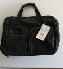 """Hunters Ridge Leather Tote Bag 16"""" with Adjustable Shoulder Strap & Handles New"""