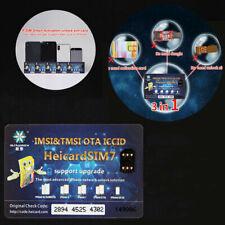 Universal Unlock Sim Turbo Card Nano-SIM for iPhone 8 Plus 7 XS/X iOS 13.5.1 4G