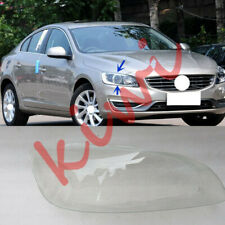 Fit For Volvo S60 2014-2018 Right Side Transparent  headlight cover PC+Glue YQ