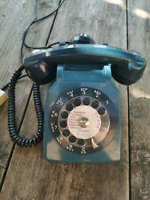 Téléphone Socotel Bleu. Vintage. 1982.