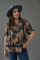 ANThropologie Tina Embroidered Lace Blouse top NWT new size 2X