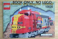 Lego 10020 VINTAGE INSTRUCTION BOOK Santa Fe Super Chief Train BOOK ONLY NO LEGO