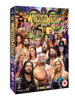 WWE: Wrestlemania 34 DVD (2018) John Cena cert 15 3 discs ***NEW*** Great Value