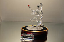 "SWAROVSKI CRYSTAL 2001 MASQUERADE ""HARLEQUIN"" MINT IN BOX WITH COA & PLAQUE"