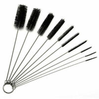 5Pcs Set Nylon Straw Brush Cleaner Bottle Tube Pipe Small Long Cleaning S7I3
