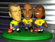 27 x Corinthian Microstars BigHead Fußball Figuren: Selecao Brasilien Coca Cola