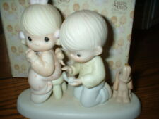 Precious Moments Figurine With This Ring I Thee Wed 1987 Nib