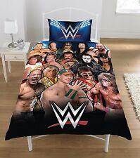WWE légende simple Parure de lit housse couette GUERRIER Rocher Cena ficelle