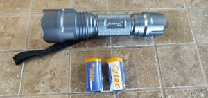 Romisen RC-G4 170 lumens LED Flashlight 1x18650 OR 2xCR123A Batteries